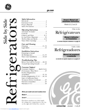 Ge SIDE-BY-SIDE REFRIGERATOR 25 Manuals