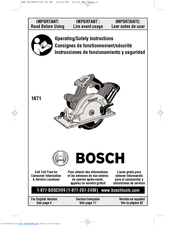 Bosch 1677md Parts