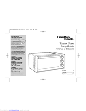 Hamilton Beach Convection Toaster Oven Instructions