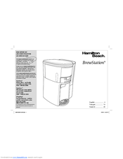 Hamilton Beach BrewStation 47950 Manuals