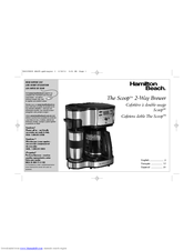 Hamilton Beach 49980 Manuals