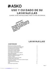 Asko 1805 Manuals