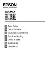 Epson WorkForce WF-2510WF Manuals