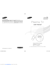 Samsung PN64E8000 Manuals