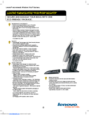 Lenovo ThinkCentre M58p Manuals