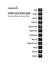 Garmin GTN 625 Manuals