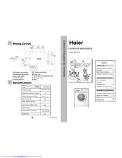 Haier HNS1060TVE Manuals