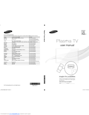 Samsung PS51D450 Manuals