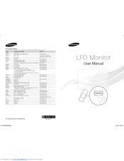 Samsung HE46A Manuals