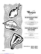 Whirlpool RBD245 Manuals
