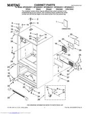Maytag MFI2266AEU Manuals