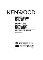 Kenwood DNX5220BT Manuals
