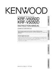 Kenwood KRF-V5050D Manuals