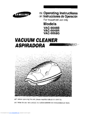 Samsung VAC-9048R Manuals