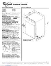 Whirlpool WDT790SLYM Manuals