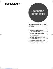 Sharp MX-M550U Manuals