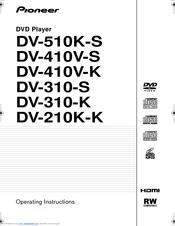Pioneer DV-410V-S Manuals