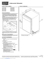 Maytag Jetclean Plus MDB7709AW Manuals