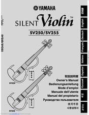 Yamaha Silent Violin SV250 Manuals