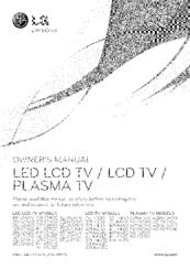 Lg 32LV3400 Manuals