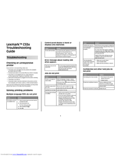 LEXMARK C532N MANUAL PDF