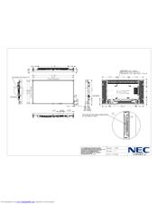 Nec MultiSync P462 Manuals