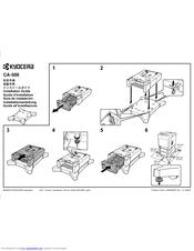 Kyocera ECOSYS FS-C5350DN Manuals