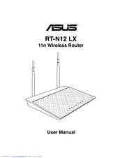 Asus RT-N12 Series Manuals