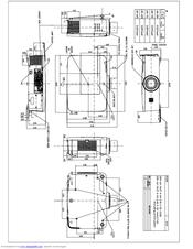 Sanyo PLC-ZM5000L Manuals