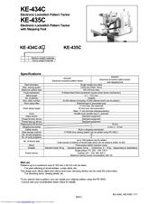 Brother KE-434C Manuals