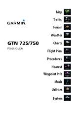 Garmin GTN 750 Manuals