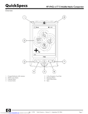 Hp iPAQ rz1715 Manuals