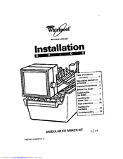 Whirlpool ECKMF95 Manuals
