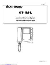 Aiphone GT-1M-L Manuals