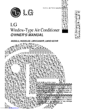 Lg LWHD1807HR Manuals