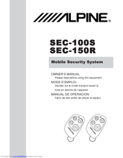 Alpine SEC-150R Manuals