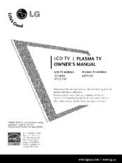 Lg 47LC7DF Manuals