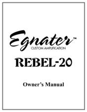 EGNATER REBEL 20 MANUAL PDF