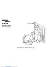 Precor S3.55 Manuals
