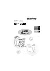 Olympus SP-320 Manuals