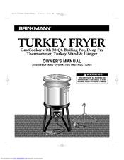 Brinkmann Turkey Fryer Manuals