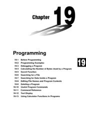 Casio FX-9750G Manuals