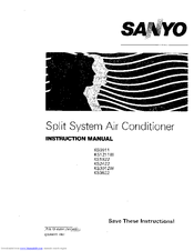 Sanyo KS0911 Manuals