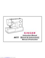 Singer 4411 Manuals