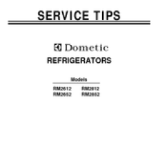 Dometic Rm2852 Wiring Diagram Control Of Dol Starter Americana Manuals Service Tips Manual