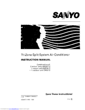 Sanyo CM3212 Manuals