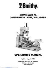 Smithy Midas 1220 XL Manuals