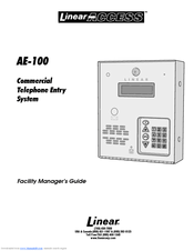 Linear ACCESS AE-100 Guide Manuals