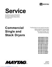 Maytag MLE/MLG23PDF Manuals