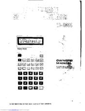 Radio Shack EC-4004 Manuals